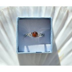 Tressée grenat hessonite