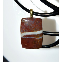 Agate mousse rouge 2